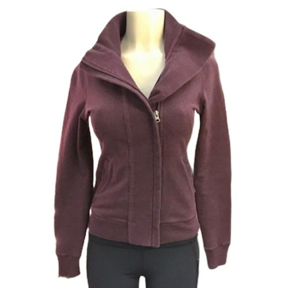 Vintage Lululemon Slalom maroon jacket size 6
